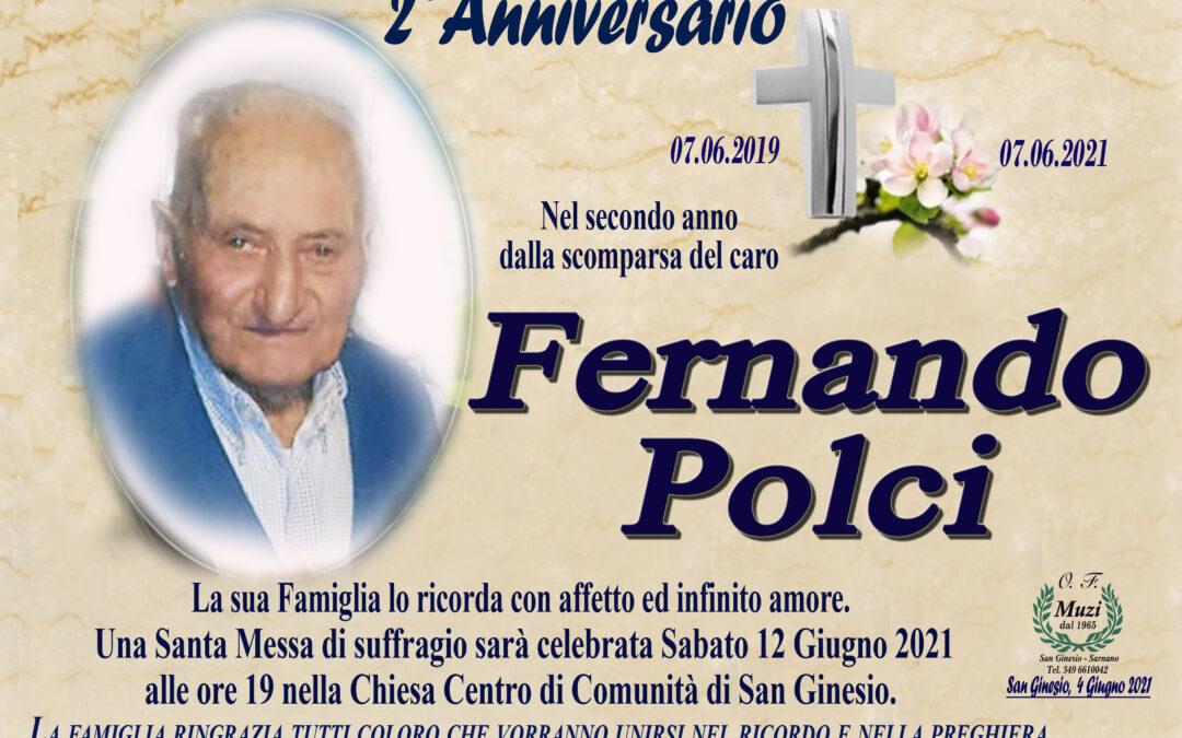 2° ANNIVERSARIO FERNANDO POLCI